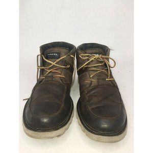 Sorel Mad Desert Leather Chukka Style Ankle Boots